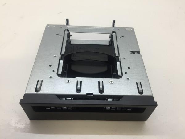 """HP 5,25"""" Einbaurahmen Adapter für 2x 2,5"""" HDDs Cage Fronteinschub für HP Z840"""